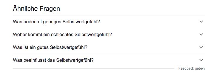 Suchergebnisse ähnliche fragen box