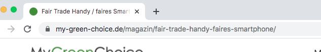 URL optimieren, Beispiel 2, Screenshot